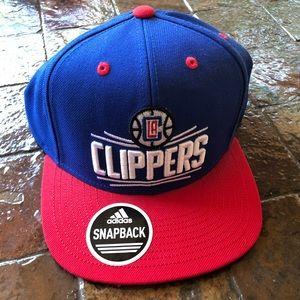 NWT - Never worn - LA Clipper's SnapBack hat !!